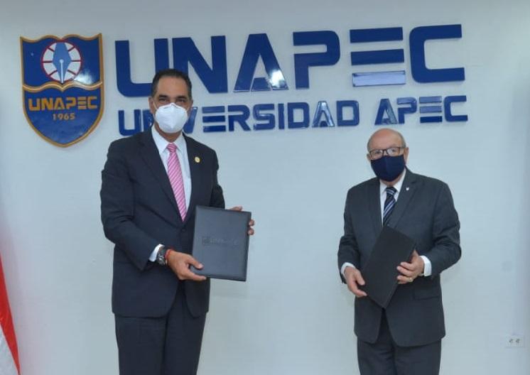 SeNaSa y Apec firman acuerdo para afiliar docentes y estudiantes