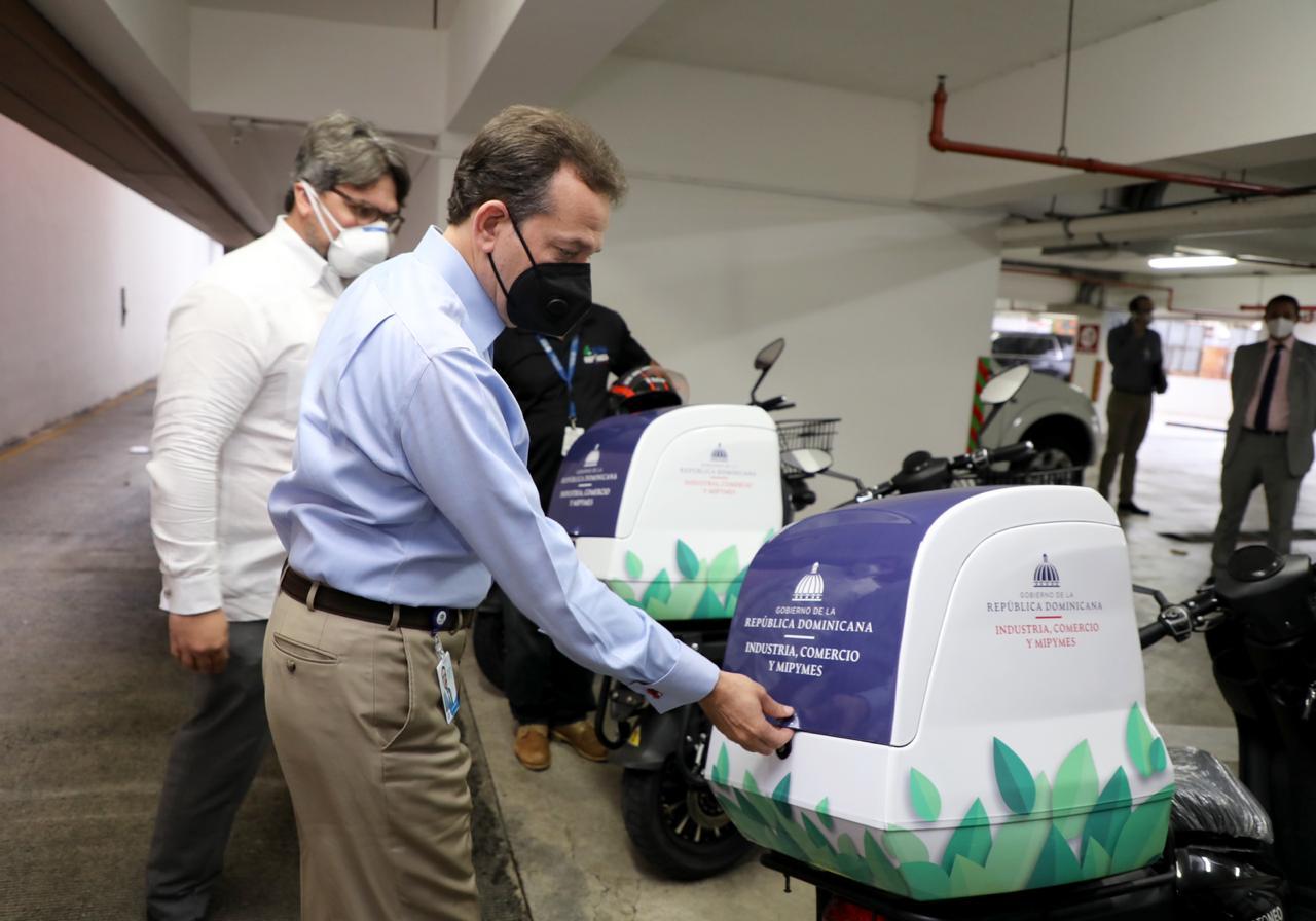 MICM promueve iniciativas sostenibles; incorpora motores eléctricos para mensajería