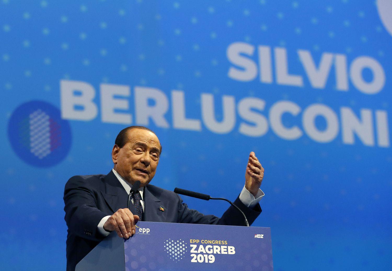 Silvio Berlusconi, hospitalizado por Covid-19