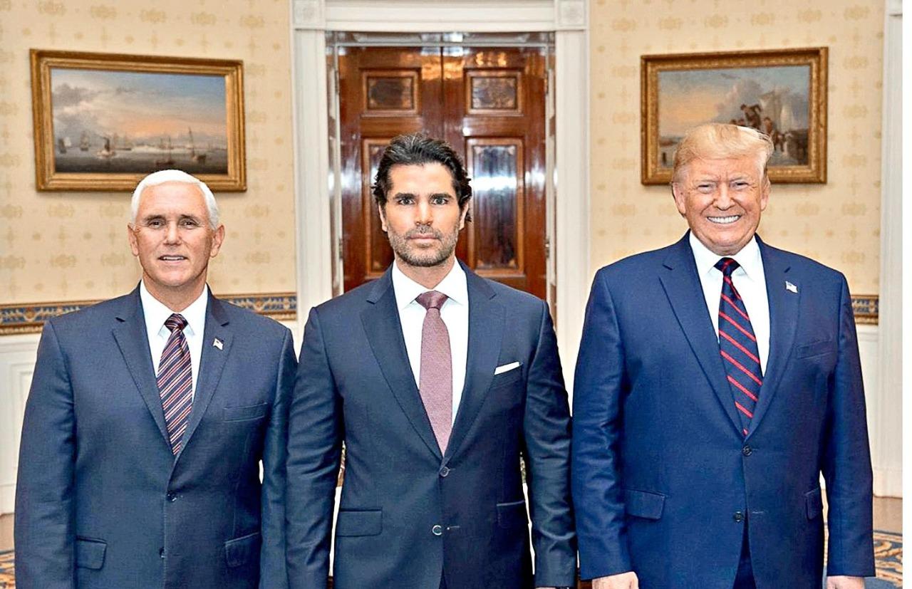 Eduardo Verástegui, nombrado por el presidente Trump para defender los intereses hispanos
