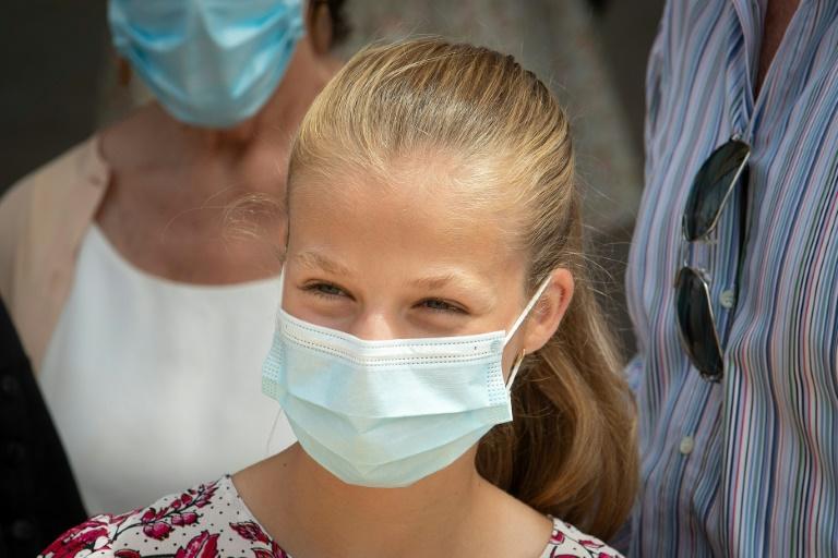 La princesa Leonor de España, en cuarentena por caso de coronavirus en su clase