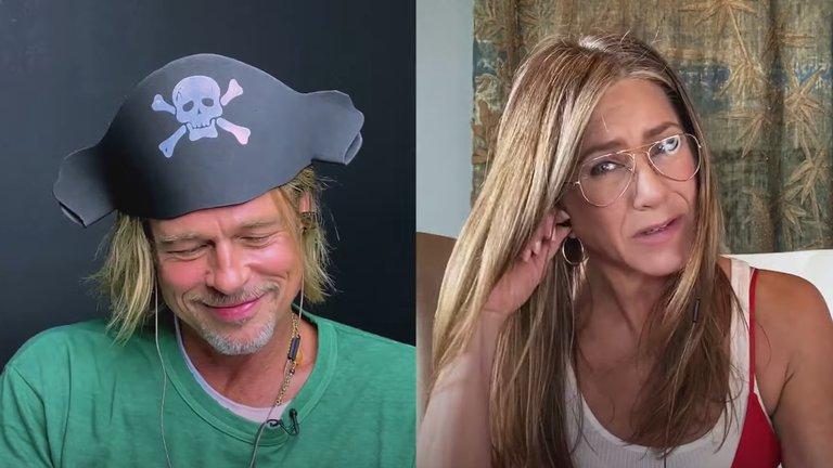 """""""Creo que eres tan sexy"""": así fue el coqueteo entre Brad Pitt y Jennifer Aniston"""