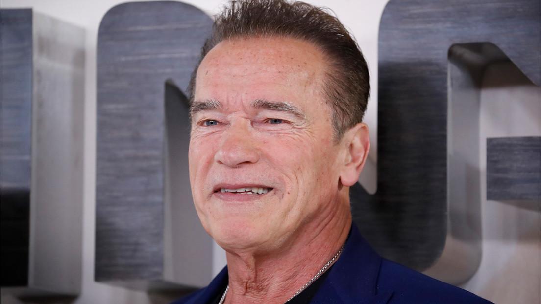 Un fan publica una foto de la pipa que talló por el cumpleaños de Schwarzenegger y este le pide que se la venda