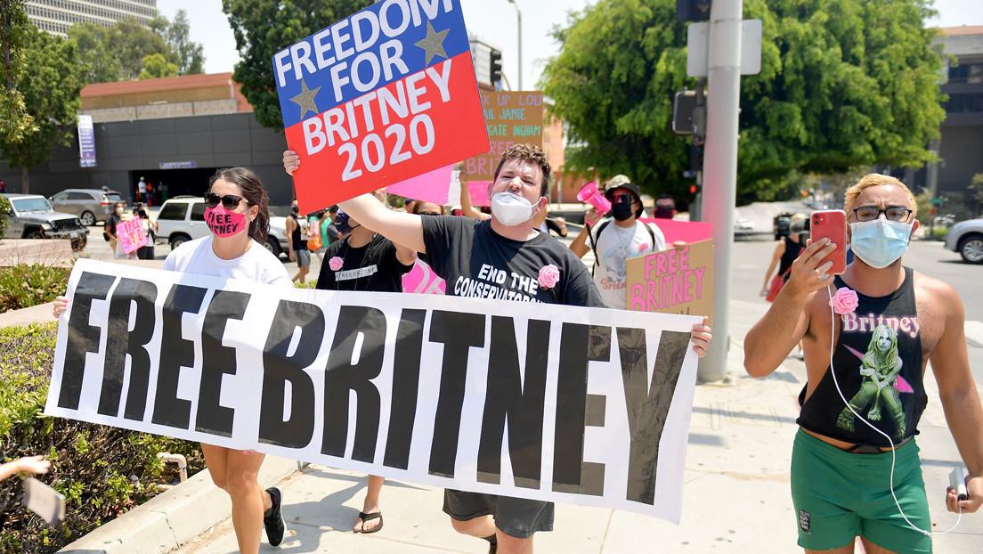 Britney Spears apoya el movimiento '#FreeBritney' y no quiere que su tutela se oculte como un secreto familiar
