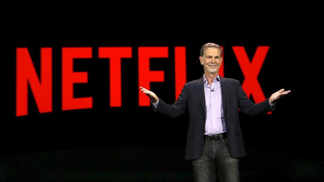 """El director de Netflix considera que el coronavirus fue """"un golpe de suerte"""" para la compañía"""