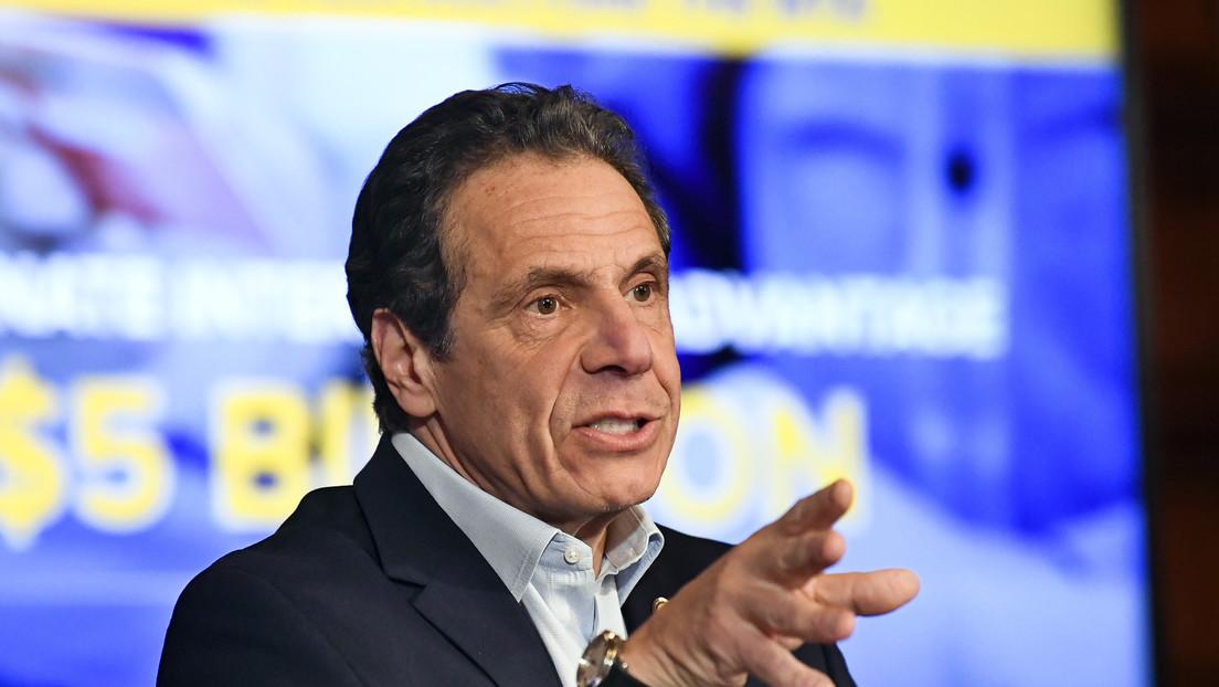 El gobernador de Nueva York culpa a Trump por el brote de covid-19 en su estado