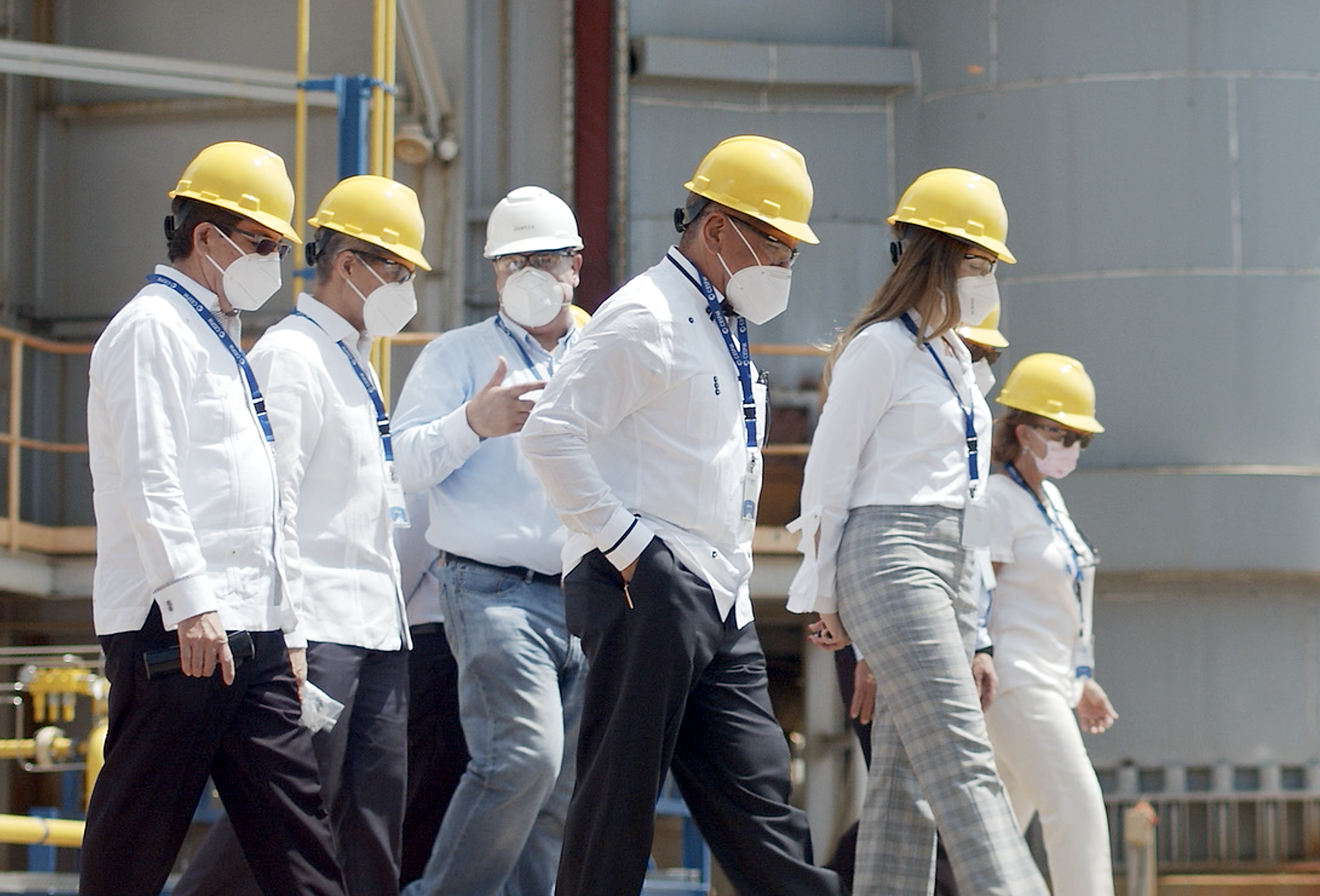 CESPM muestra avances de proyecto de conversión a gas natural