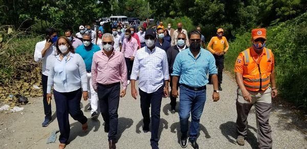 Senadores realizaron descenso en varias obras solicitadas por el senador Franklin Rodríguez