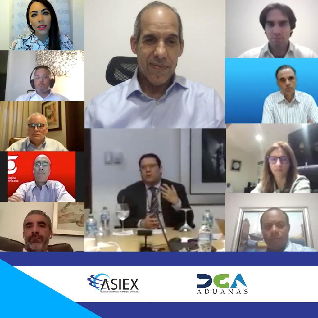 ASIEX y director DGA abordan planes para la facilitación del comercio
