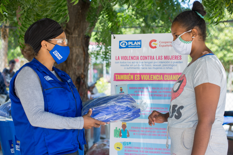 ONG entrega donaciones financiadas por España para paliar efectos del coronavirus