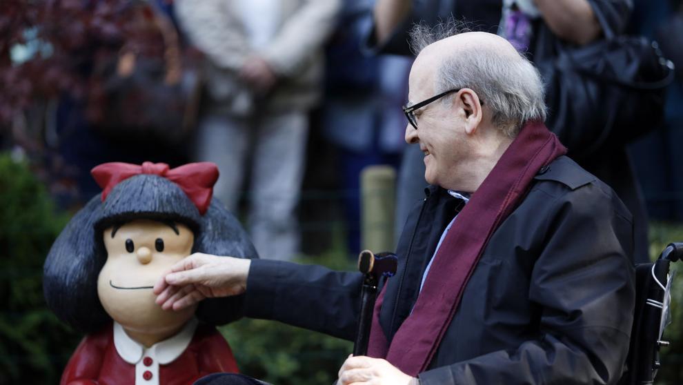 Muere el dibujante argentino Quino, autor de Mafalda