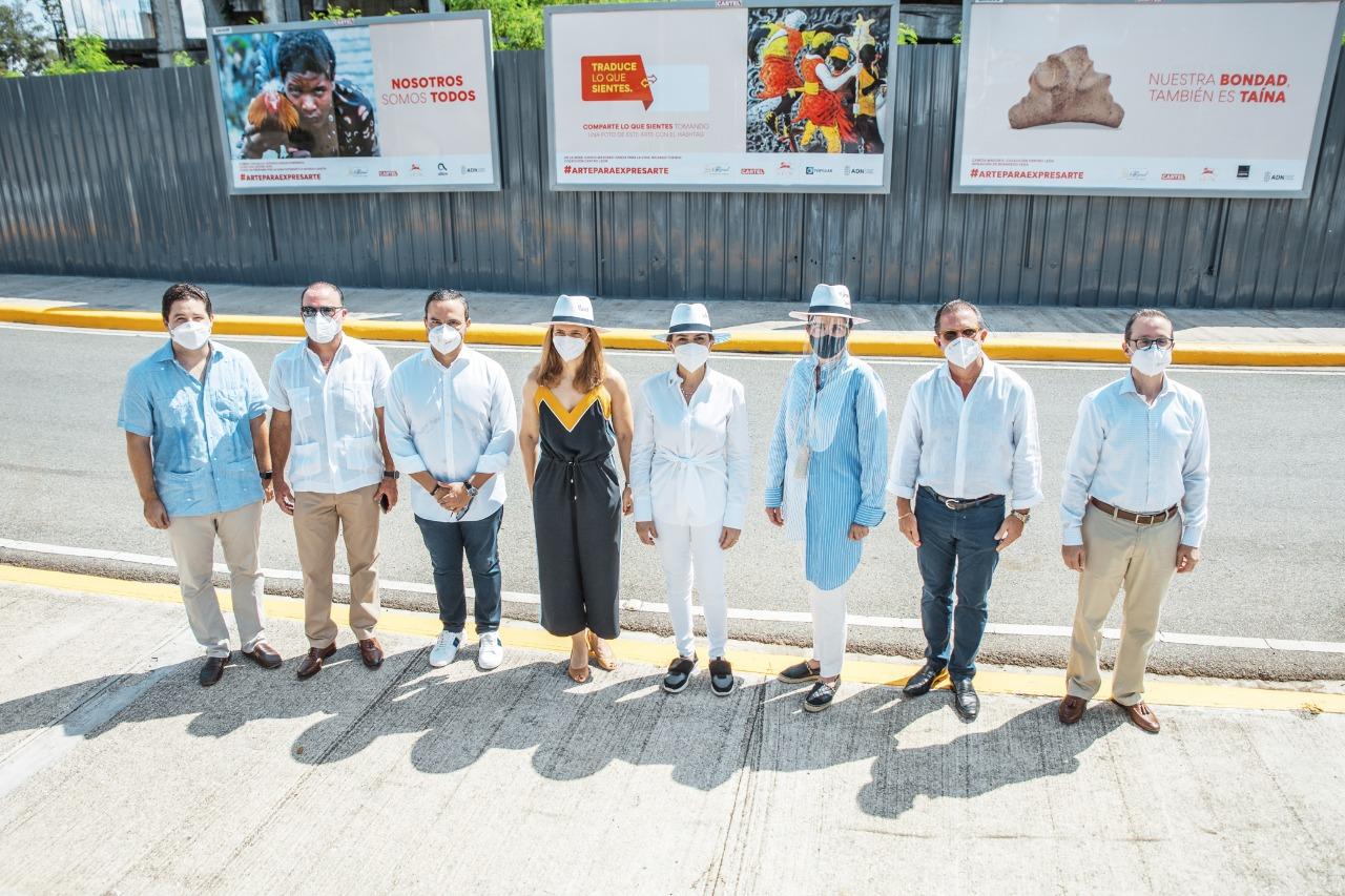 "Inauguran ""Arte para Expresarte"" para exponer obras de artistas dominicanos"