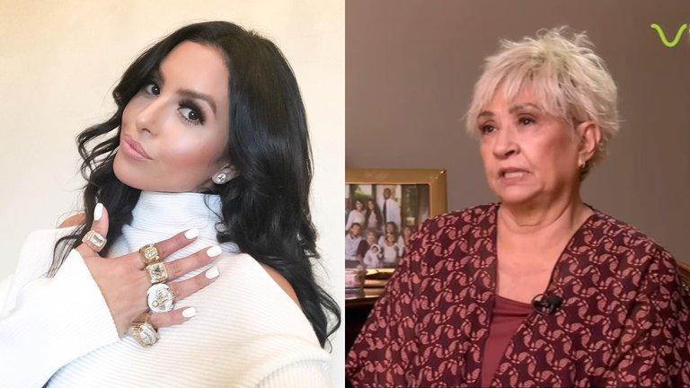 Quién es la suegra mexicana de Kobe Bryant que acusa a la viuda de haberla despojado