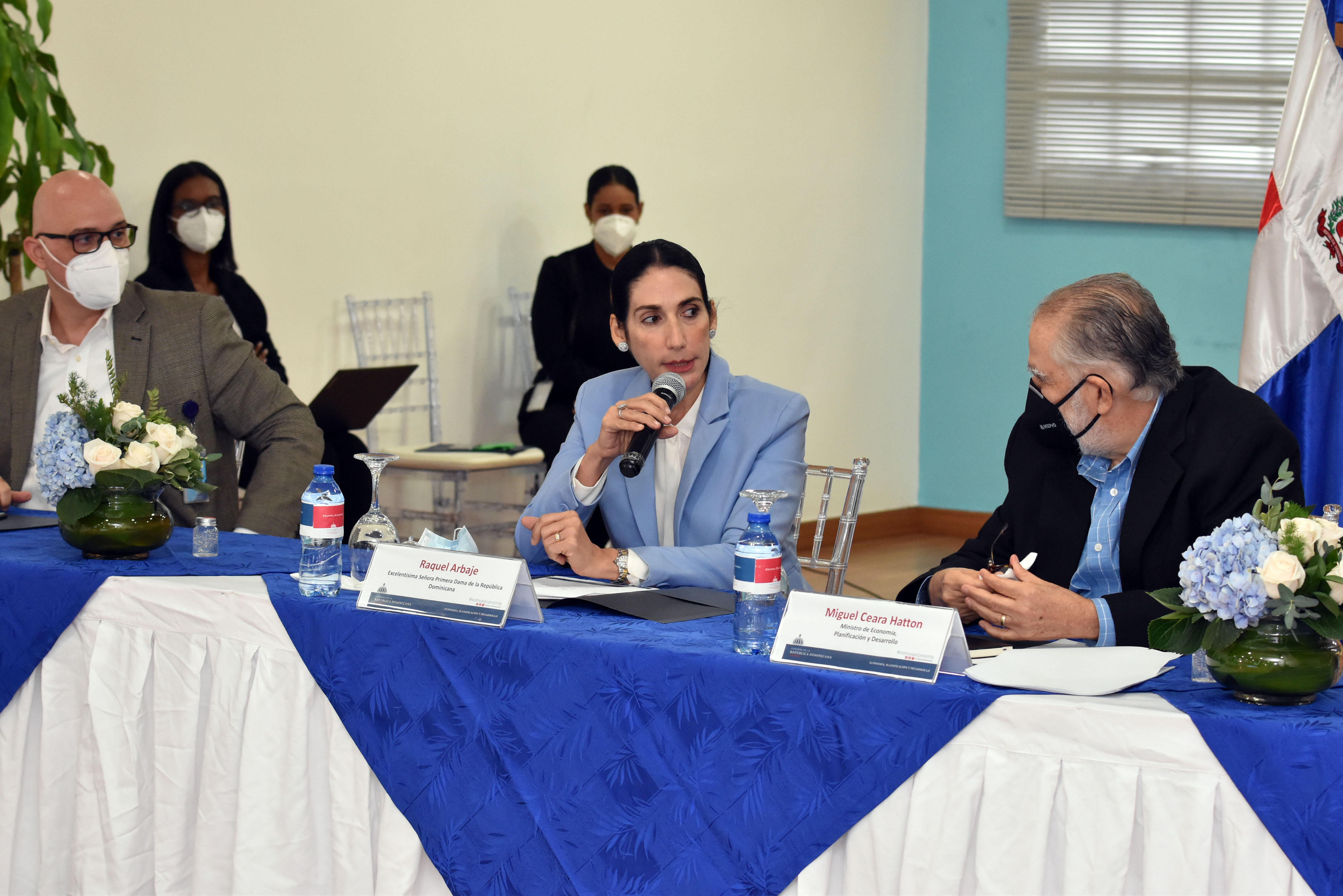Raquel Arbaje visita Ministerio de Economía para fortalecer procesos de Asociaciones sin Fines de Lucro