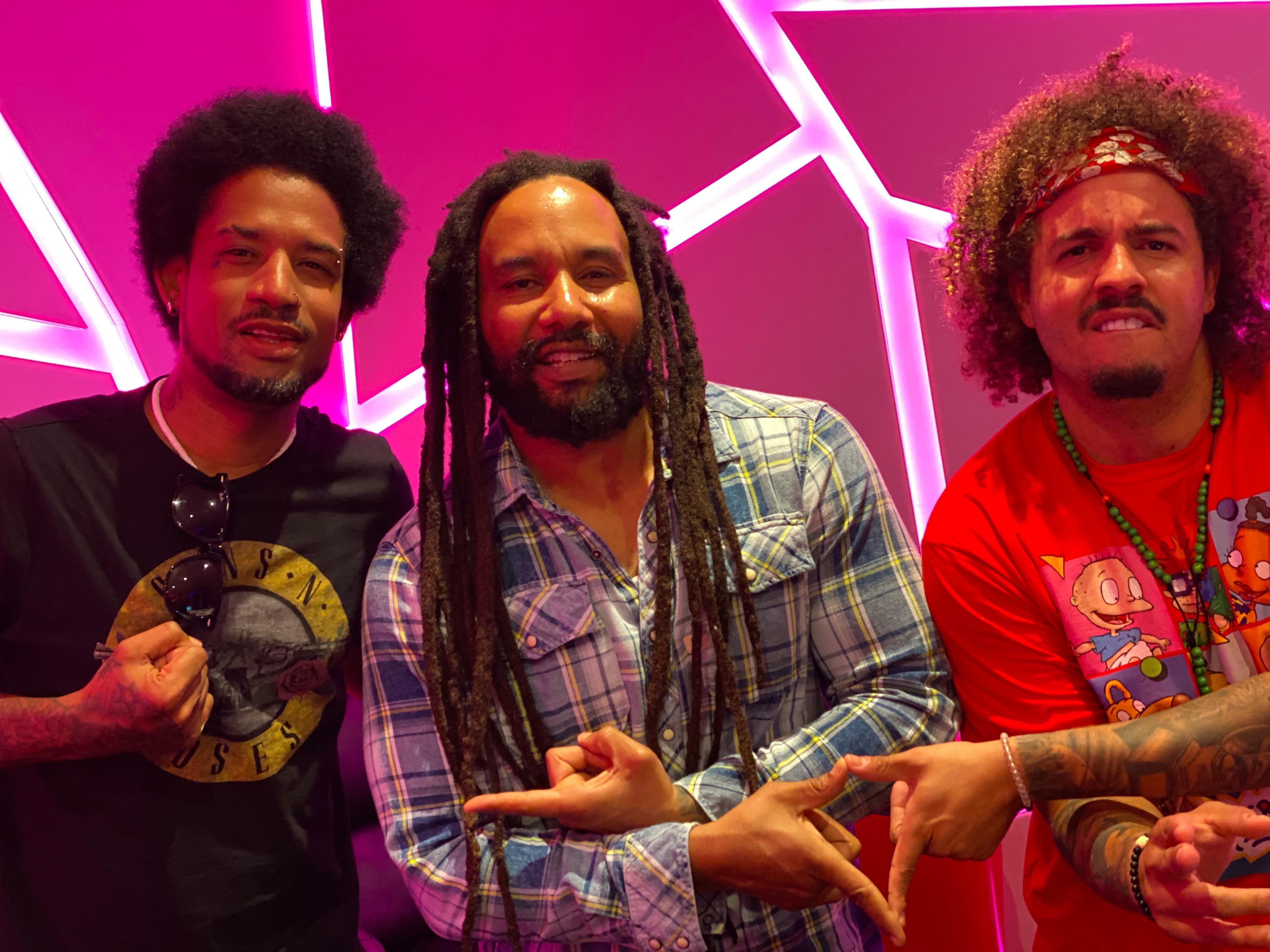 Vakeró cumple su sueño de grabar con Ky-Mani Marley