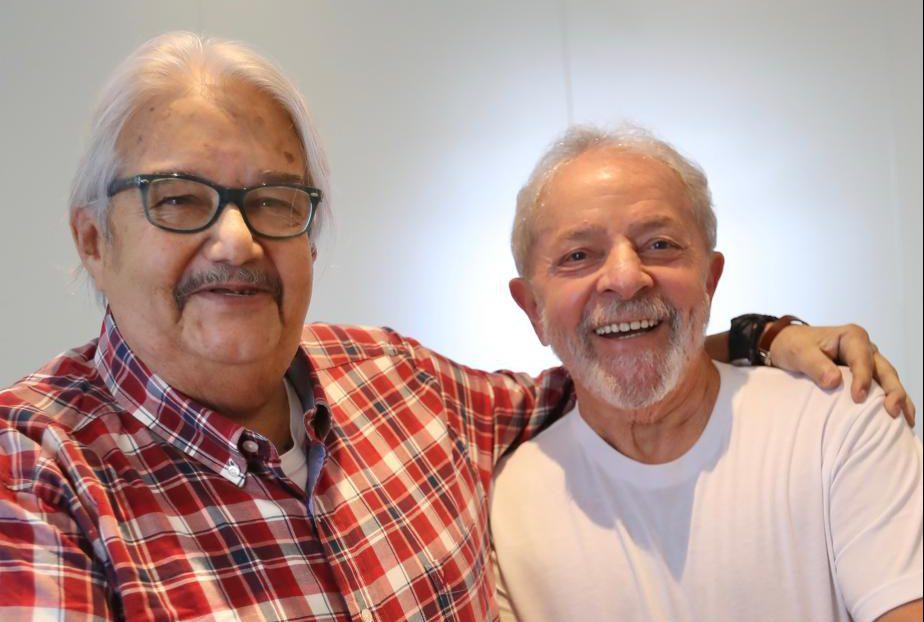 Lula expresa pesar por la muerte de Gordo Oviedo