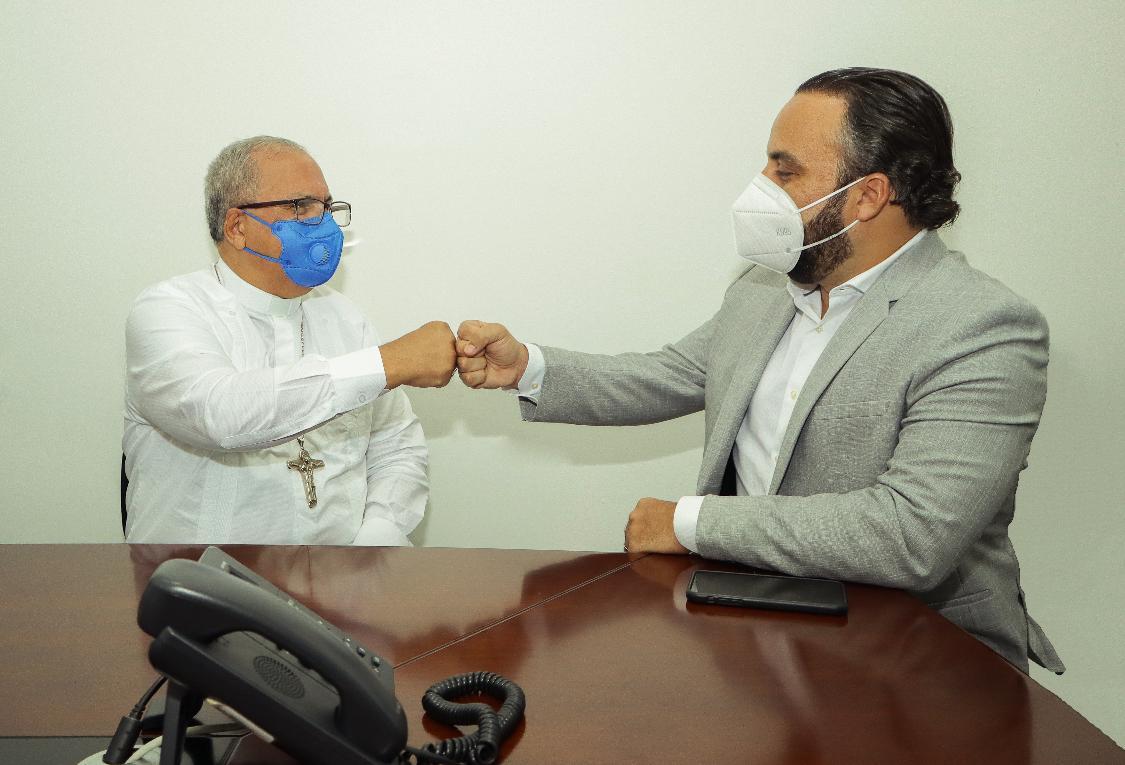 Julio Peña y Benito Ángeles acuerdan trabajar juntos en Ciudad Juan Bosch