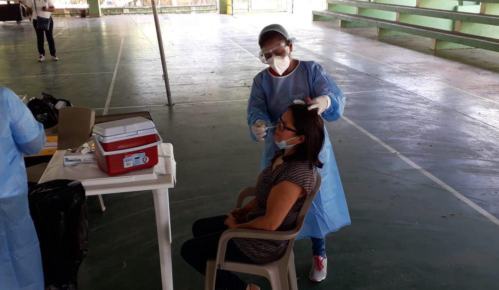 Continúan operativos de pruebas rápidas y PCR en María Trinidad Sánchez