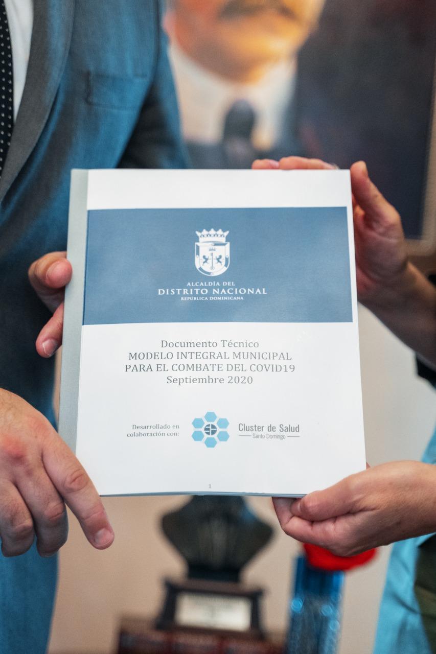 """ADN y Clúster de Salud Santo Domingo lanzan """"Manual Municipal para la Prevención del Covid 19"""""""