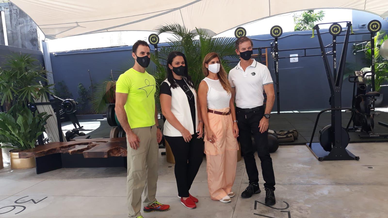 Video | Club Body Shop inaugura espacios al aire libre para el entrenamiento seguro