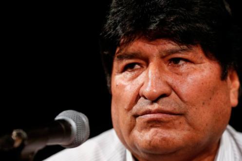 La justicia boliviana inhabilitó la candidatura a senador de Evo Morales