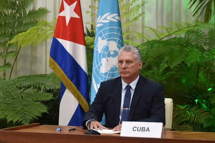 Cuba expresa en ONU solidaridad con Venezuela y Nicaragua