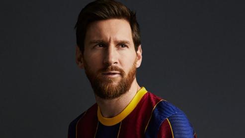 El Barcelona sacó a la venta su nueva camiseta con una imagen de Lionel Messi, y desató una ola de burlas en las redes
