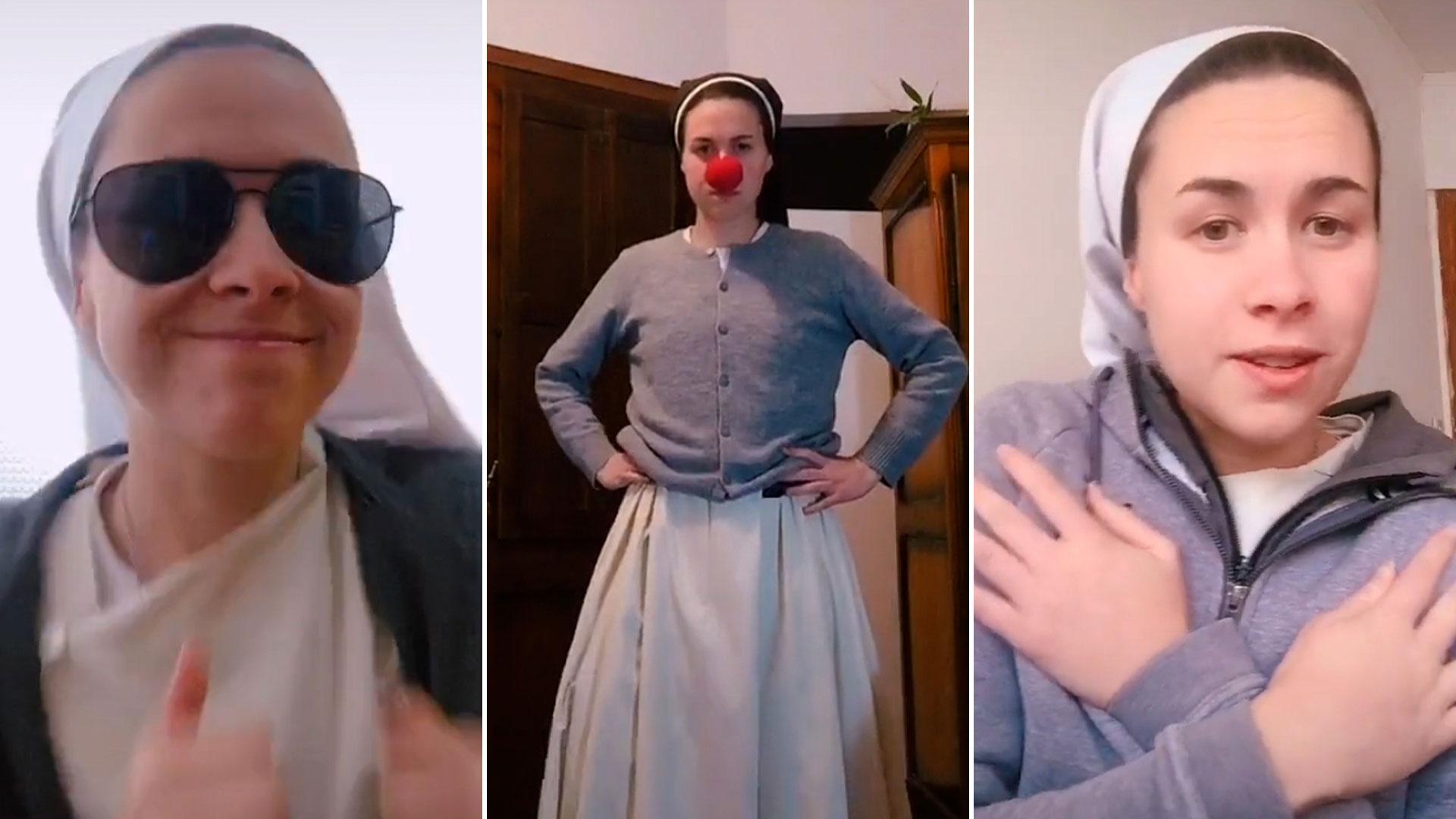 Video | Así es la monja argentina que está revolucionando TikTok