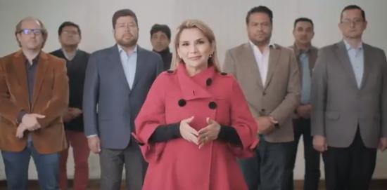 Video | Presidenta de Bolivia renuncia a su candidatura en comicios de octubre