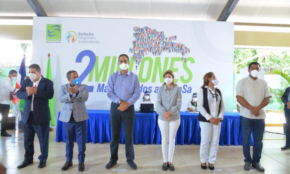 SeNaSa realiza Jornada de Afiliación al Régimen Subsidiado en Bonao