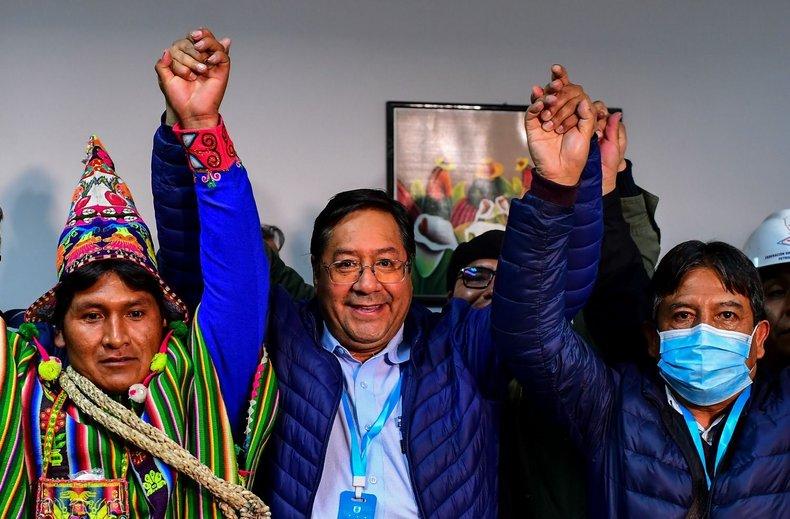 Luis Arce, candidato de Evo Morales, se impone en primera vuelta de presidenciales de Bolivia