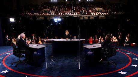 Las críticas y reproches mutuos marcan el primer debate vicepresidencial entre Pence y Harris