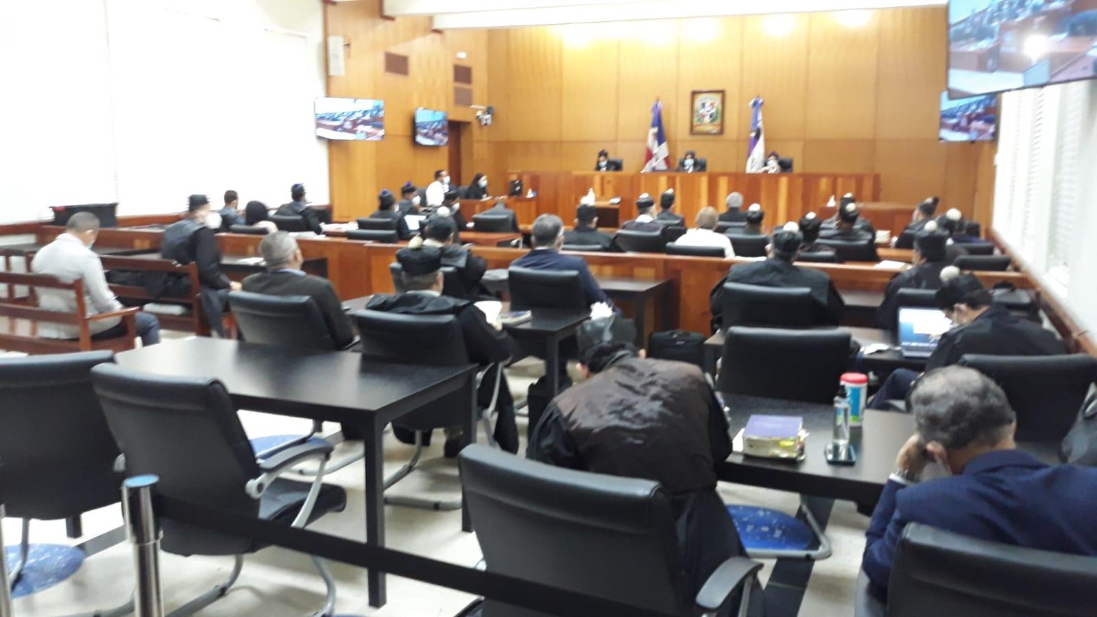 Imputados del caso Odebrech continúan presentando incidentes para evitar que se conozca la acusación.