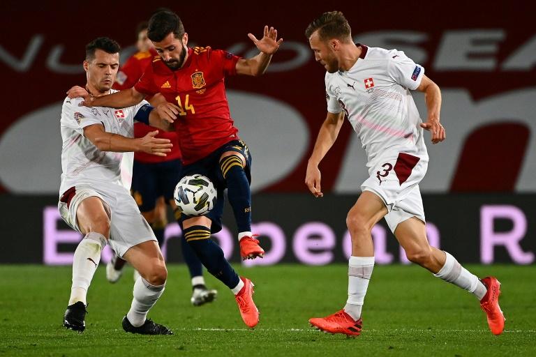 España sigue líder en su grupo de la Liga de Naciones, con Alemania al acecho