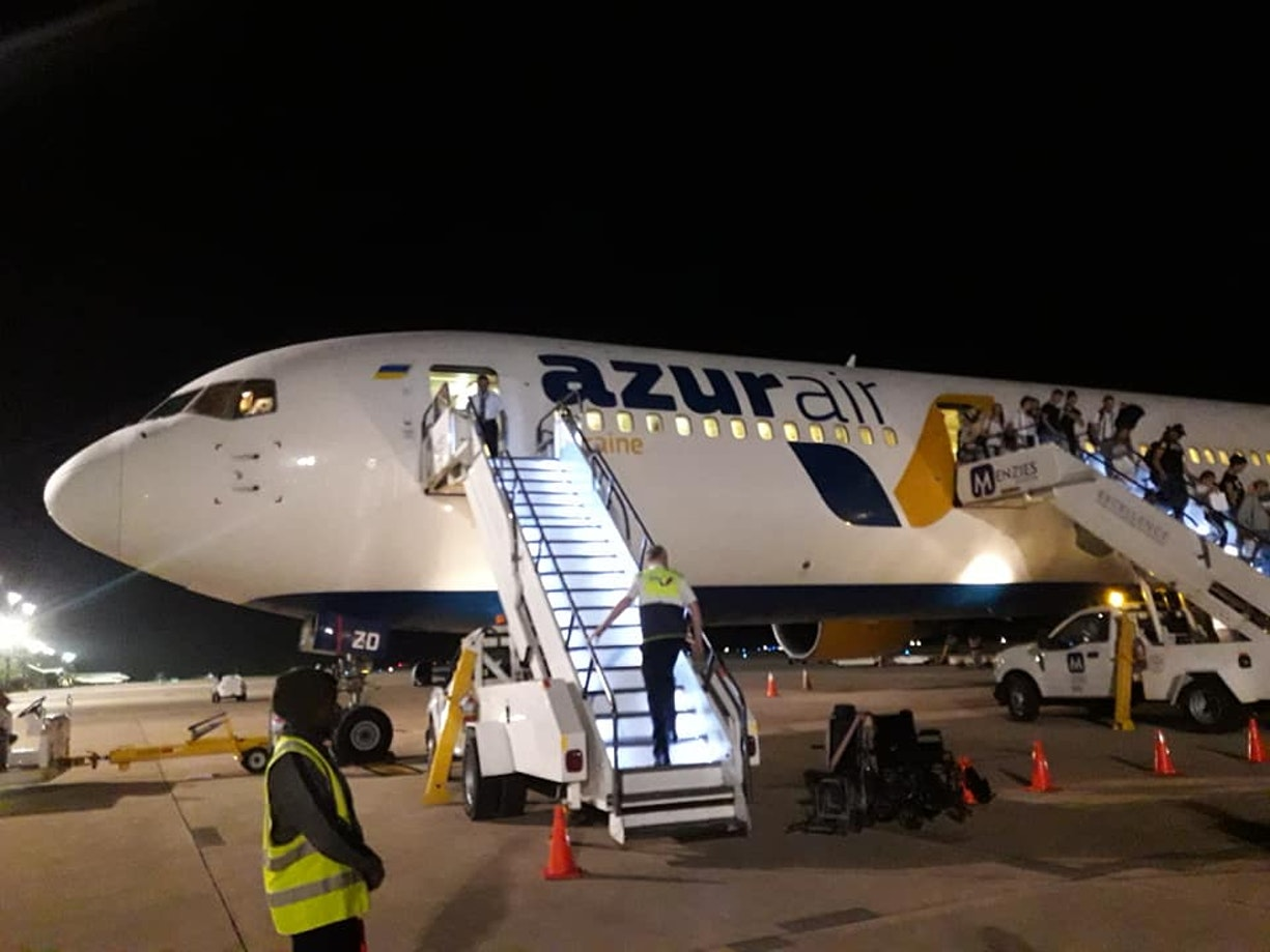 Azur Air Ukraine reanuda operaciones