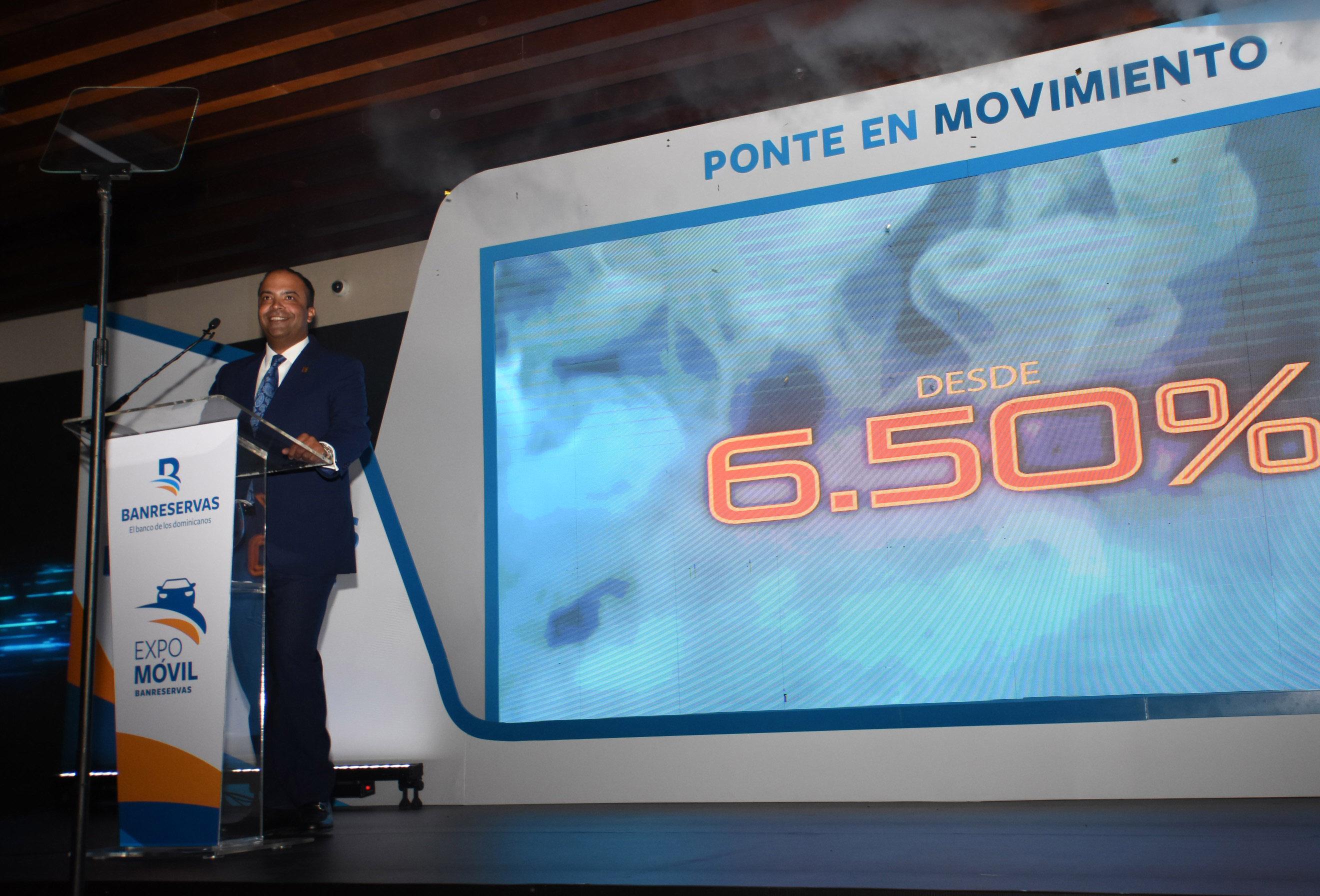 Con tasas fijas desde 6.50 % Banreservas inaugura Expomóvil 2020
