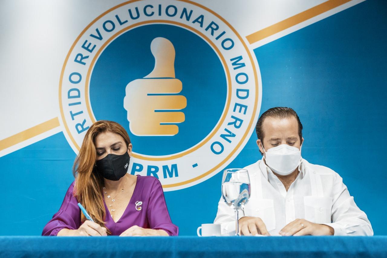 PRM delega a Paliza y Carolina la escogencia de las ternas para ocupar las vacantes