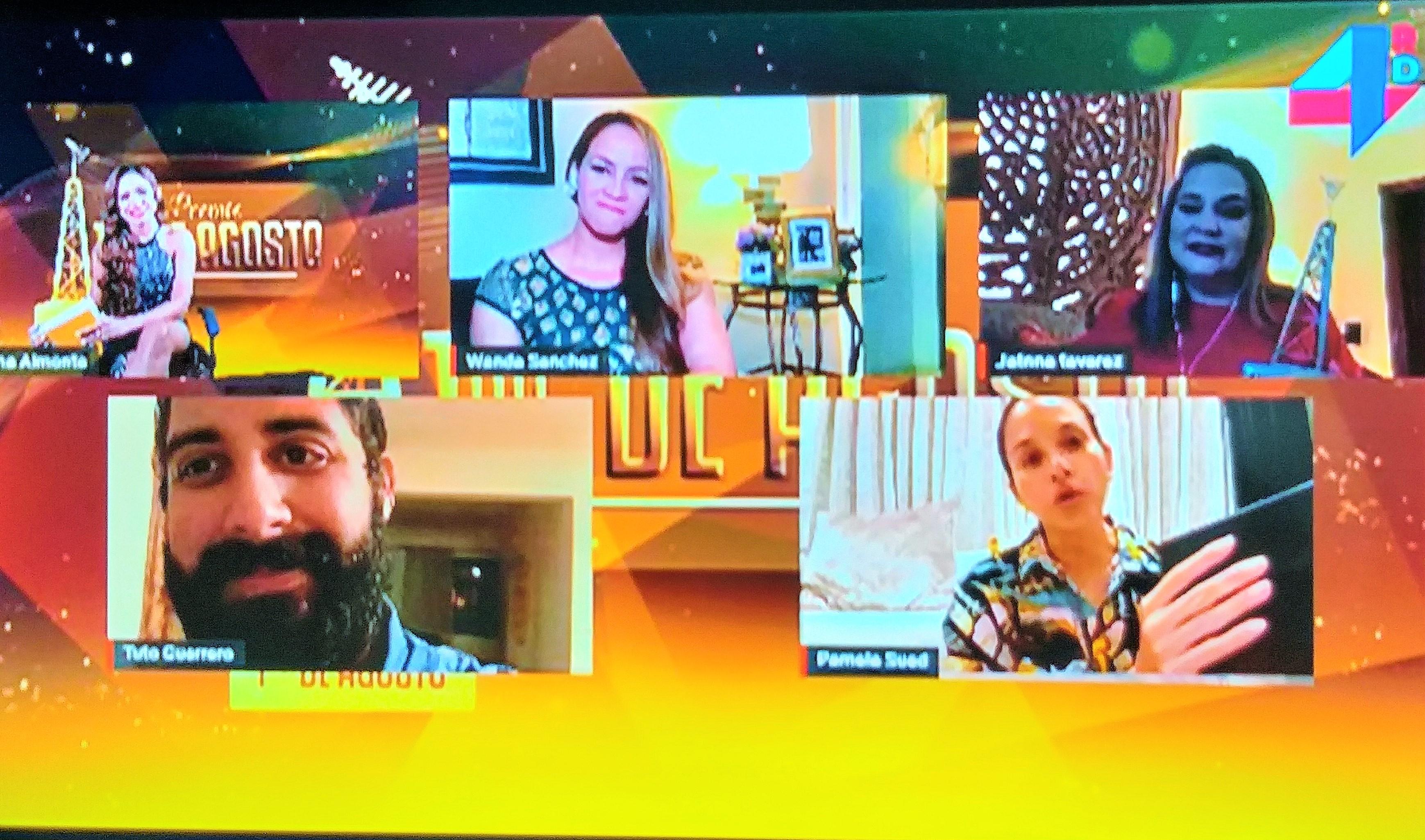 Premios 1ro de Agosto fue el gran homenaje a TV dominicana