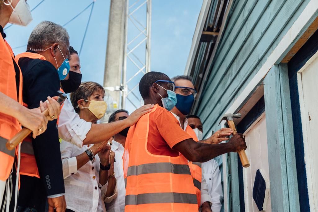 """INVI continúa plan """"Se Reconstruye"""" en Puerto Plata"""