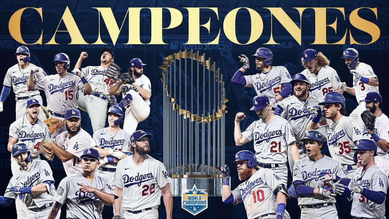 Los Ángeles Dodgers campeones de MLB 2020