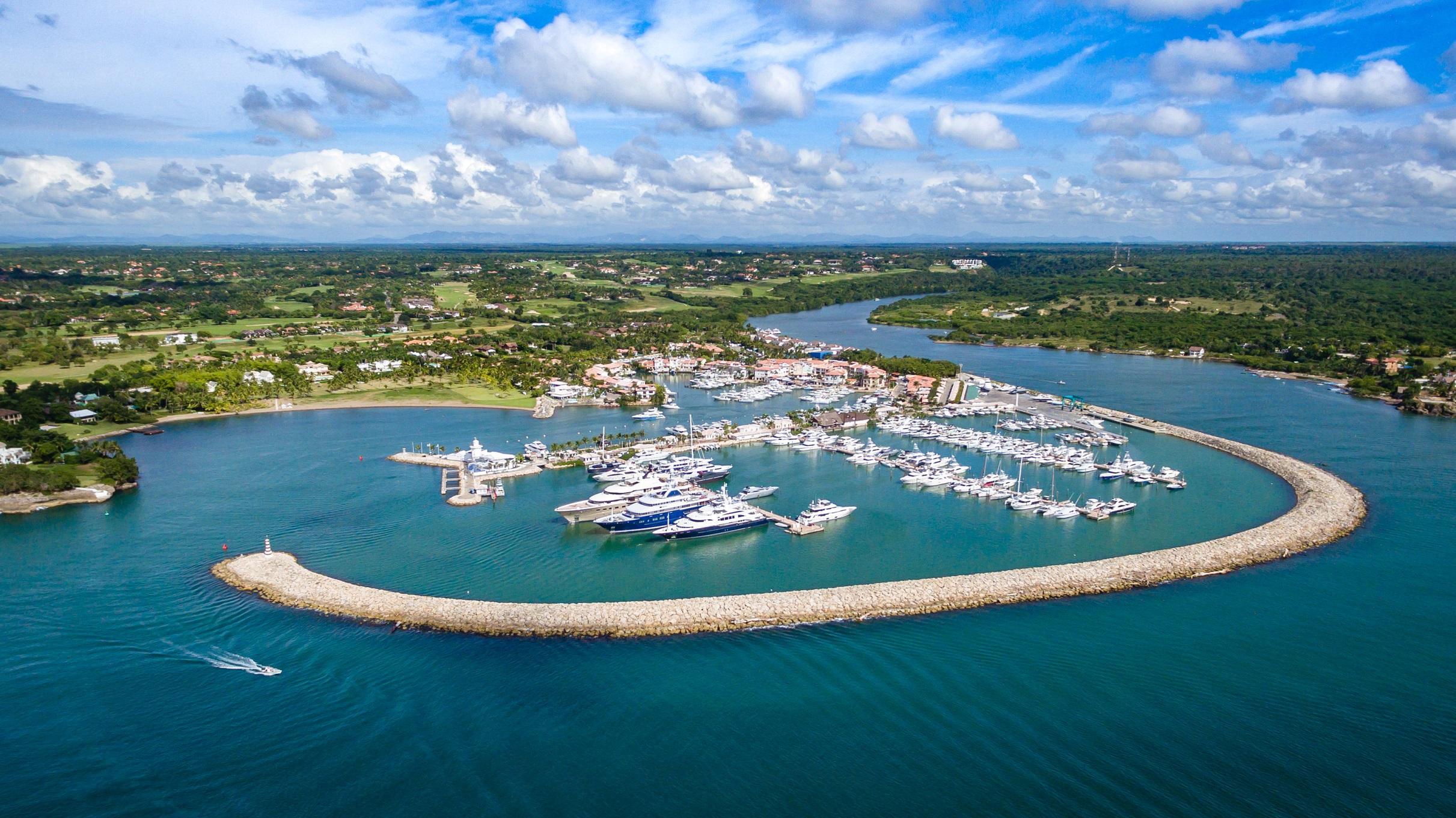 Marina Casa de Campo es nominada como la mejor del Caribe