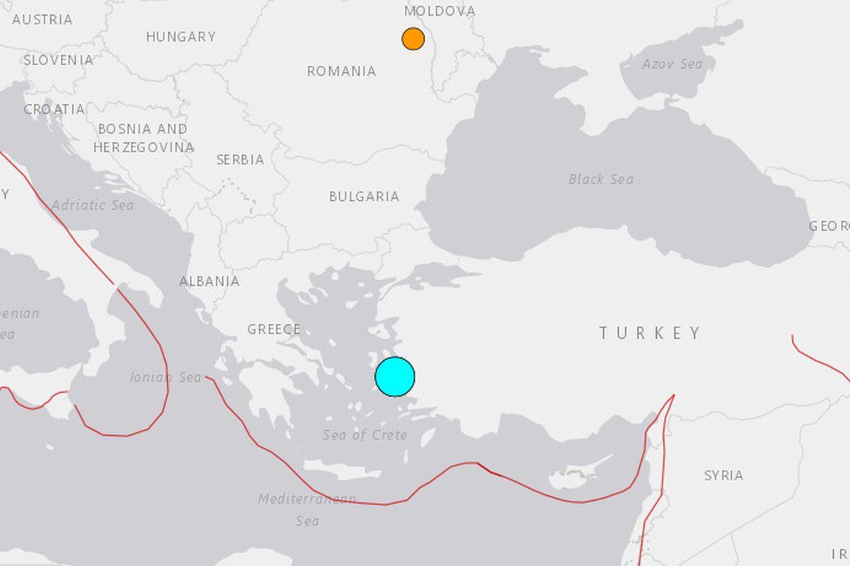Fuerte sismo de magnitud 7 en el oeste de Turquía