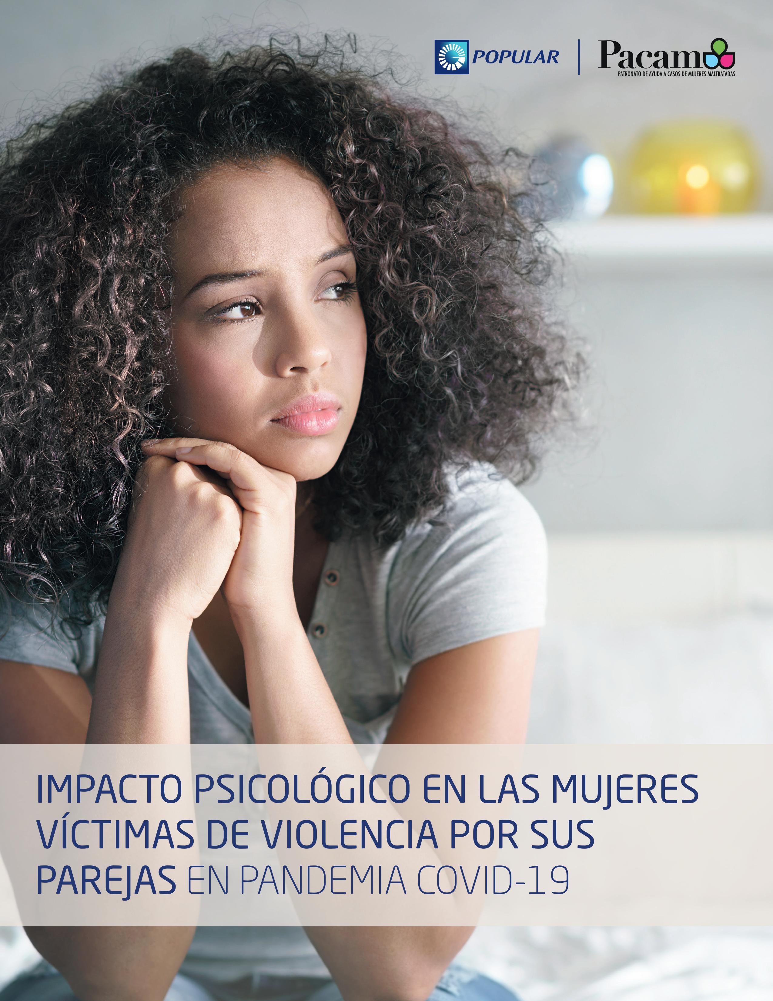Popular y PACAM presentan estudio sobre violencia contra la mujer durante COVID-19