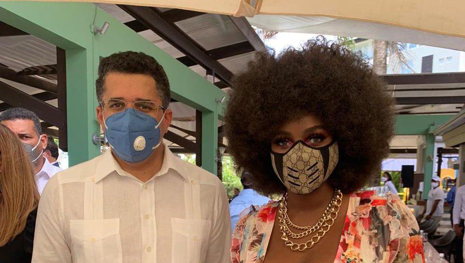 "Amara La Negra, una ""embajadora"" del turismo dominicano a nivel internacional"