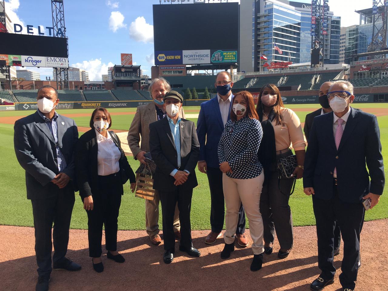 Video | Vicepresidente ejecutivo Bravos de Atlanta asesoraría Alcaldía SDE para construcción estadio