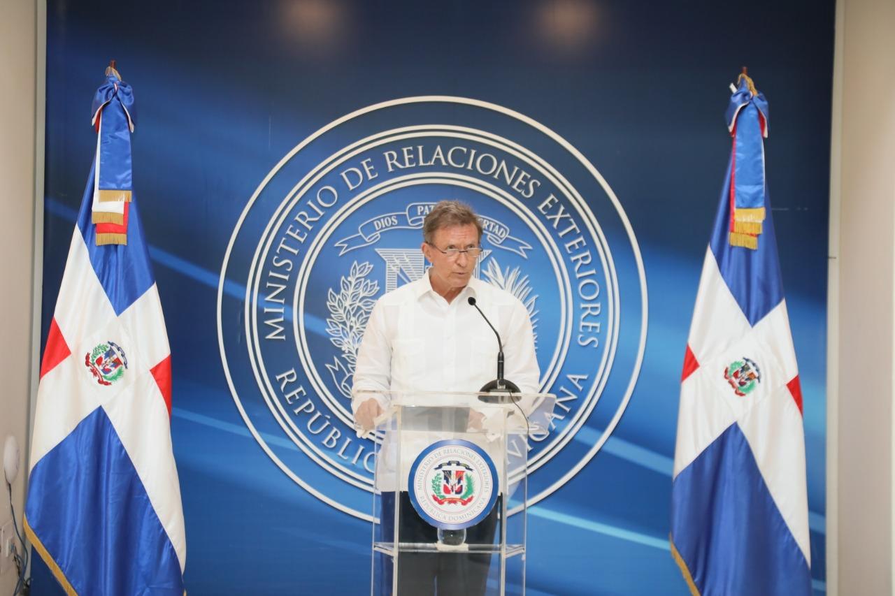 Ministro de Relaciones Exteriores aclara límites territoriales entre RD y Haití son ''innegociables''