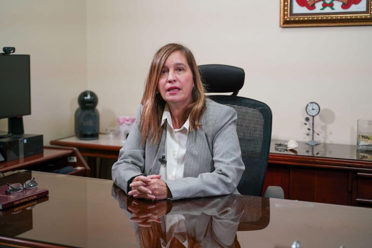 Video | Magistrada Ysis Muñiz asegura todos los tribunales del país están conociendo audiencias presenciales
