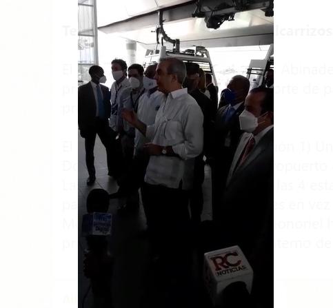 Video | Gobierno anuncia 3ra línea del MetroSD que llegará hasta el AILA
