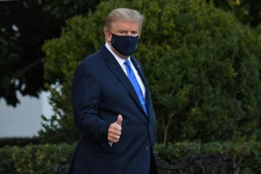 Hospitalización de Trump por covid-19 sacude campaña electoral de EEUU