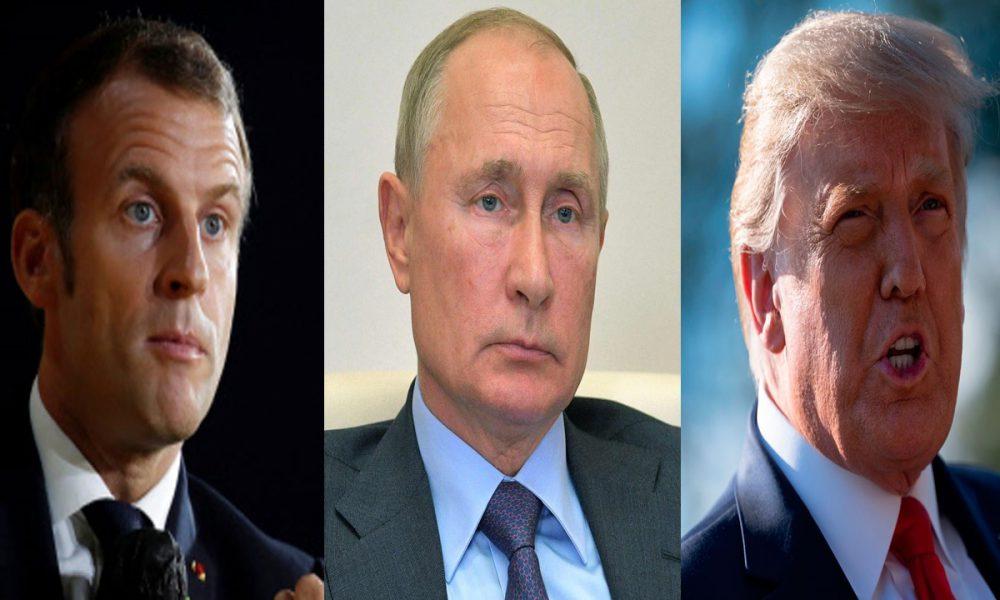 """Macron, Putin y Trump piden conjuntamente un alto el fuego """"inmediato"""" en Karabaj"""